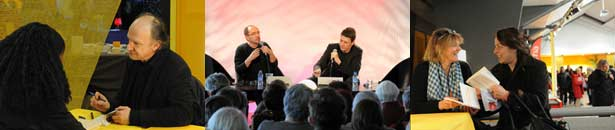 Guy Coffette, Laurent Maviginier, Florence Auvenas - ©Christine Chaudagne