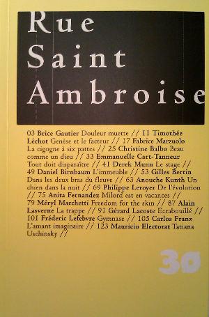 Revue Rue Saint Ambroise
