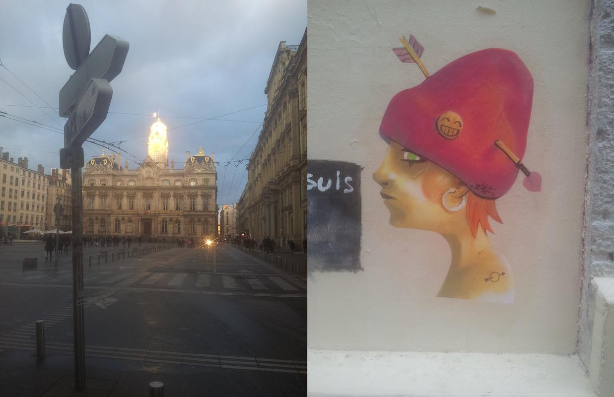 Lyon, jour de Saint Valentin